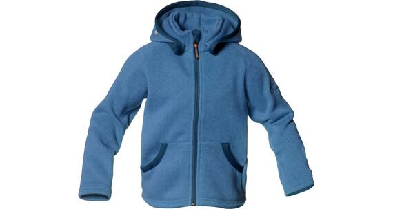 Isbjörn Kids Rib Sweater Hood Hawaiian Ocean